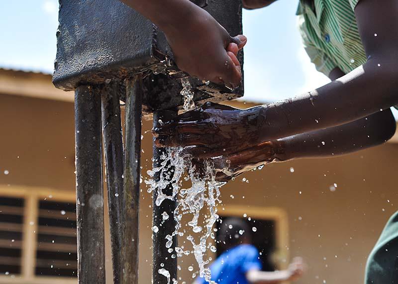 Water tap at Greater Joy School