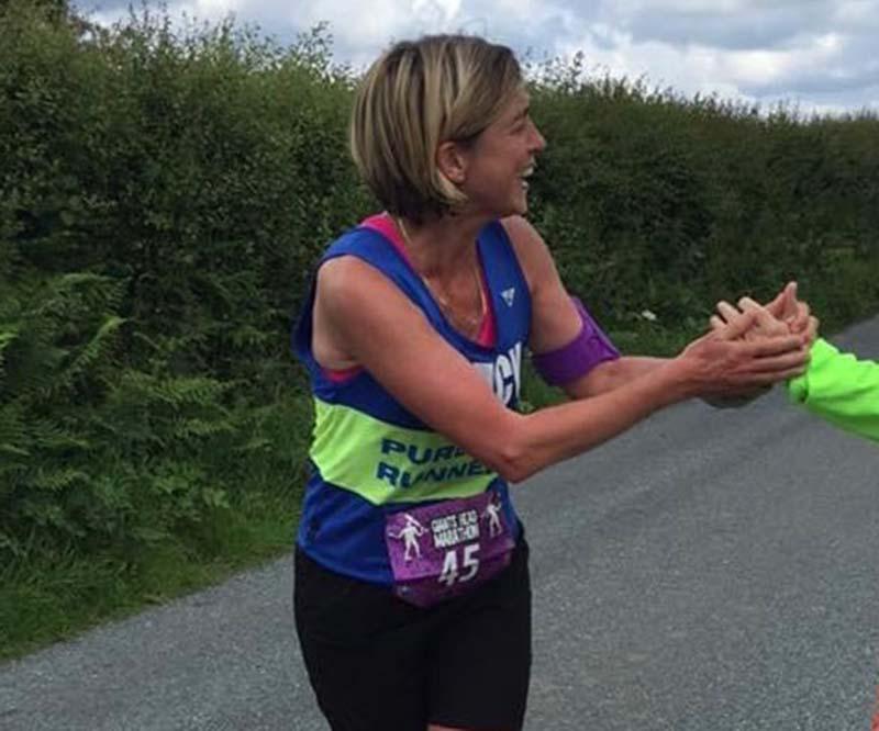 Cranleigh School teacher running a sponsored run for Beyond Ourselves